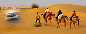 Desert Triangle Tour Package For 5 Nights & 6 Days
